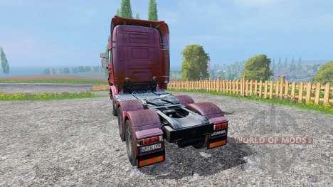 Scania R730 [Topline] v2.0 for Farming Simulator 2015