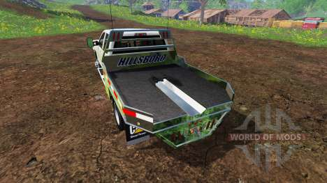 Chevrolet Silverado 3500 [flatbed] v7.0 for Farming Simulator 2015