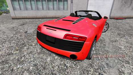 Audi R8 Spyder v1.0 for Farming Simulator 2015