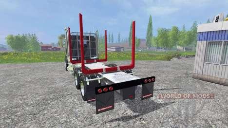 Kenworth T908 [logger] for Farming Simulator 2015