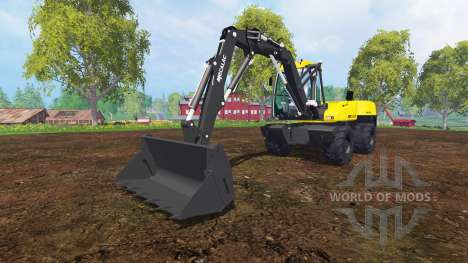Mecalac 12MTX for Farming Simulator 2015
