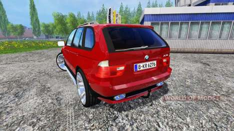 BMW X5 2004 for Farming Simulator 2015