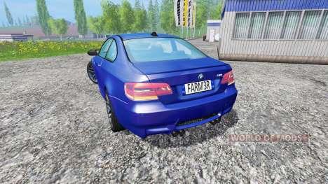 BMW M3 (E92) v2.0 for Farming Simulator 2015