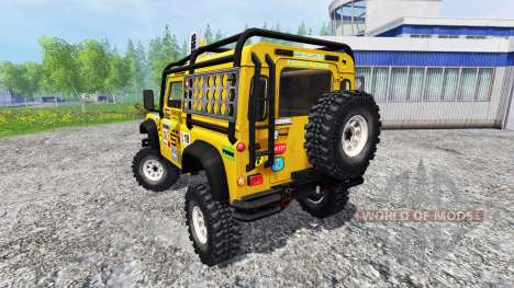 Land Rover Defender 90 for Farming Simulator 2015