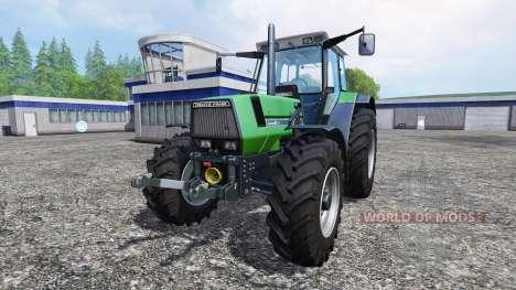 Deutz-Fahr AgroStar 6.31 v1.0.2 for Farming Simulator 2015