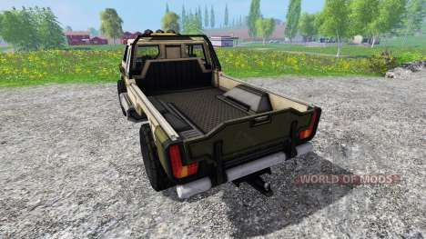 Gekko Utility Vehicle v1.0 for Farming Simulator 2015
