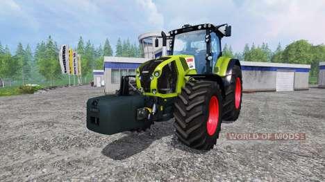 CLAAS Axion 870 v1.5 for Farming Simulator 2015