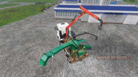 MAN TGS mobile hacker for Farming Simulator 2015