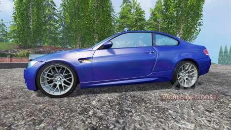 BMW M3 (E92) 2008 CID v1.1 for Farming Simulator 2015