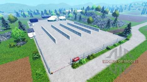 Hagestedt v1.0 for Farming Simulator 2015