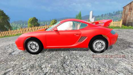 Porsche Cayman v1.2 for Farming Simulator 2015