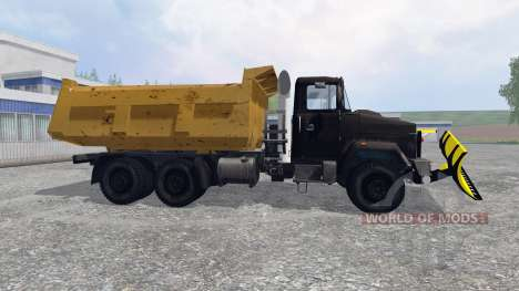 KrAZ-6510 [snowplow] for Farming Simulator 2015
