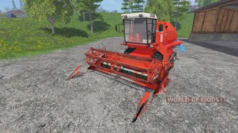 Bizon Z058 [record] for Farming Simulator 2015