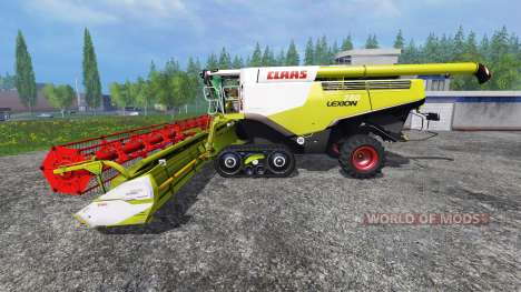 CLAAS Lexion 780TT [multifruit] v3.0 for Farming Simulator 2015