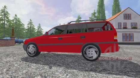 Opel Astra F Caravan v2.0 for Farming Simulator 2015