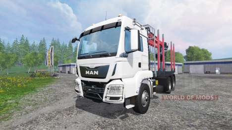 MAN TGS 18.440 [timber carrier] for Farming Simulator 2015