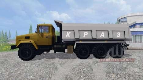 KrAZ-7140 for Farming Simulator 2015