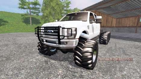 Ford F-350 8x8 for Farming Simulator 2015