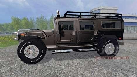 Hummer H1 [Terminator] for Farming Simulator 2015