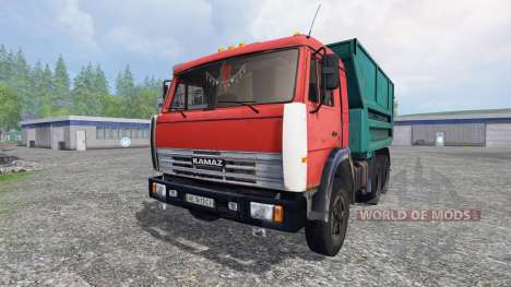 KamAZ-55111 v2.0 for Farming Simulator 2015