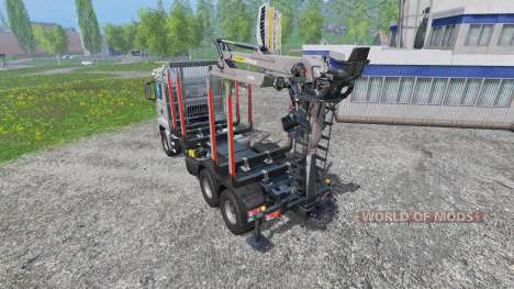 MAN TGS 18.440 [forestry] v2.0 for Farming Simulator 2015