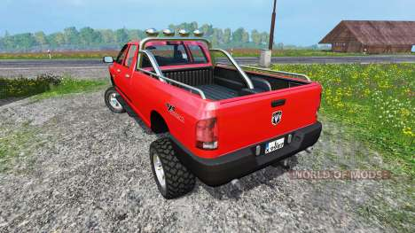 Dodge Ram 2500 Heavy Duty v1.5 for Farming Simulator 2015