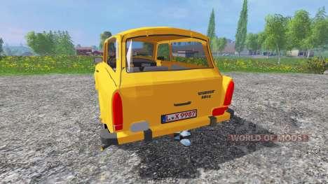 Trabant 601 S v0.9 for Farming Simulator 2015