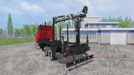KamAZ-54115 [timber] for Farming Simulator 2015