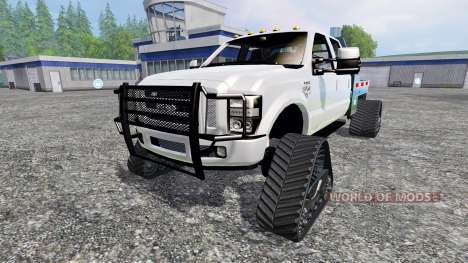 Ford F-350 [tracked] for Farming Simulator 2015