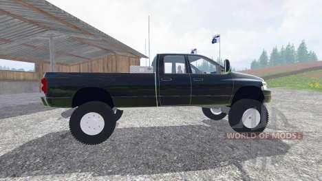 Dodge Ram 3500 2007 [wide stance] v2.0 for Farming Simulator 2015