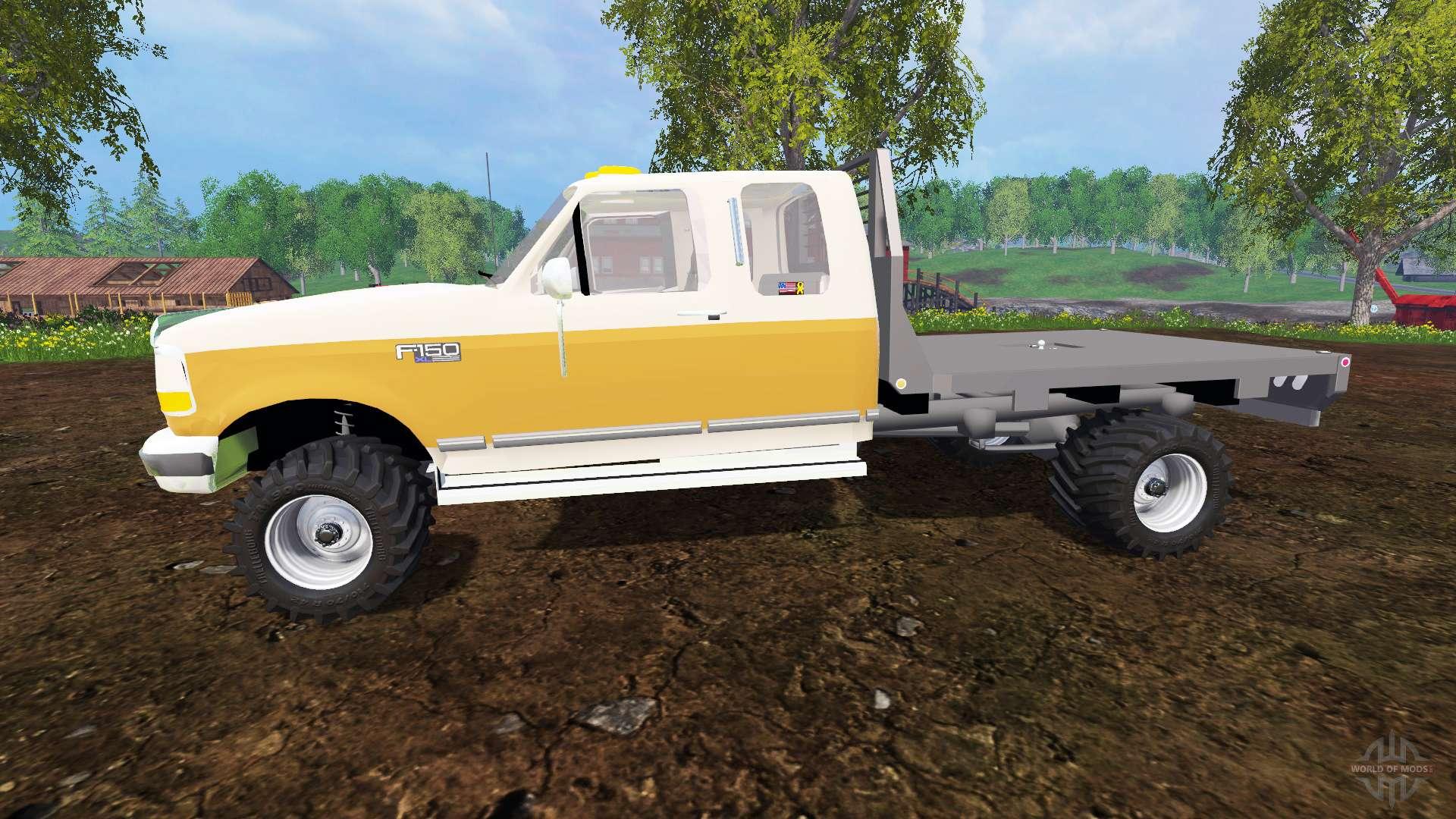 Ford F 150 Xl 1992 Flatbed For Farming Simulator 2015
