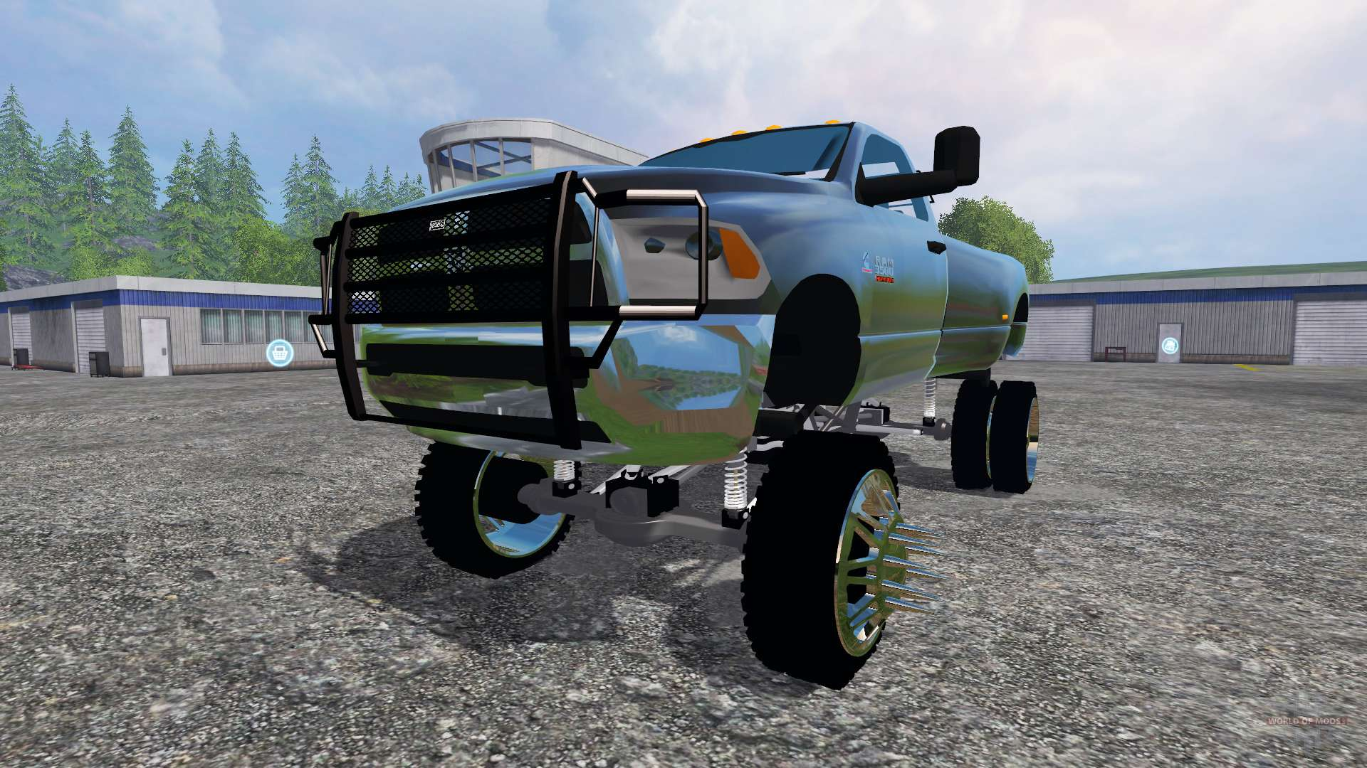 Scrap Metal Pick Up >> Dodge Ram 3500 [lift] for Farming Simulator 2015