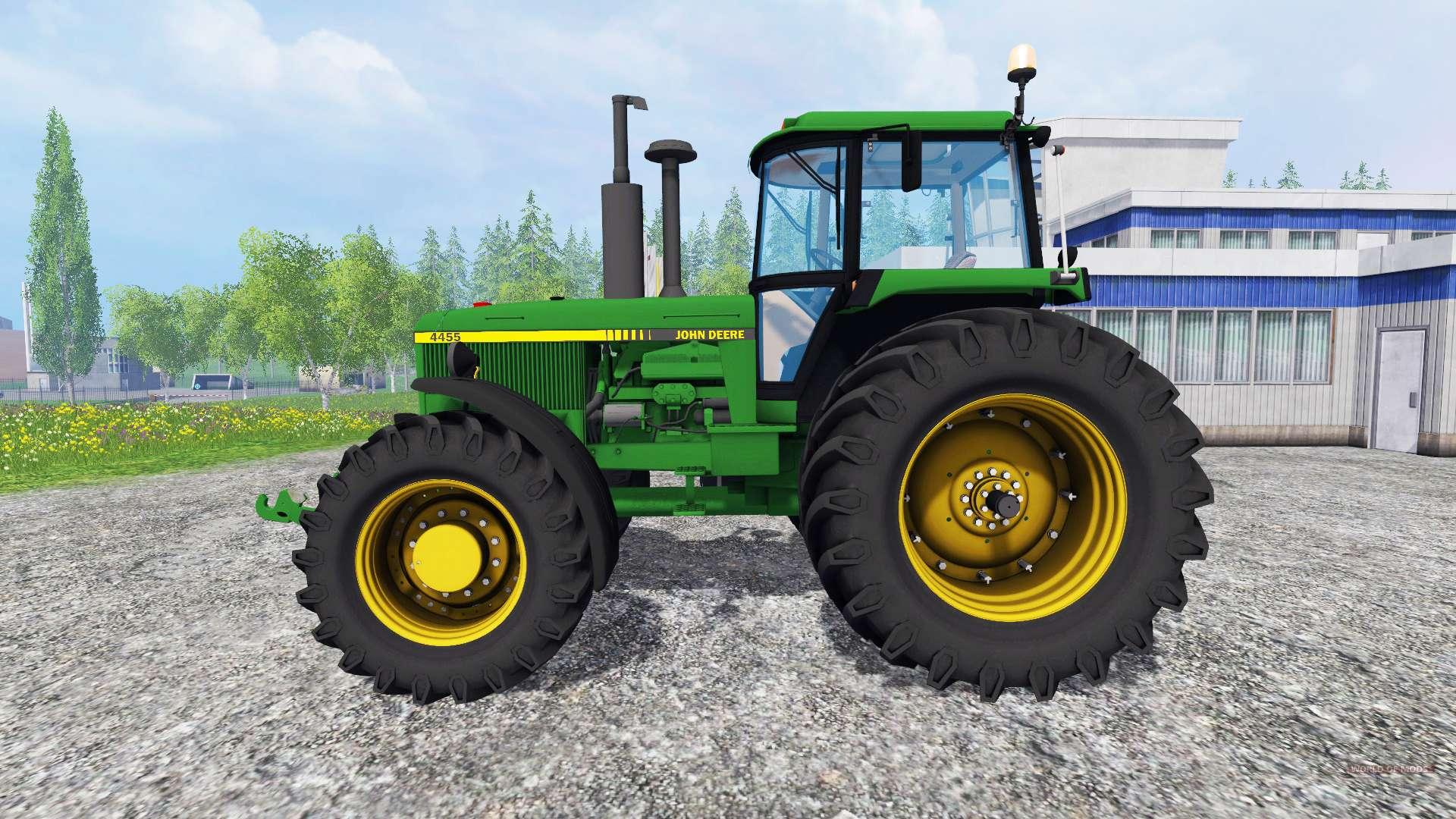 John Deere Farm Tractors Parts : John deere wd for farming simulator