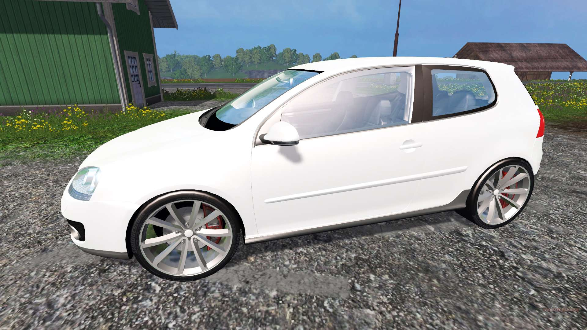 volkswagen golf gti for farming simulator 2015. Black Bedroom Furniture Sets. Home Design Ideas
