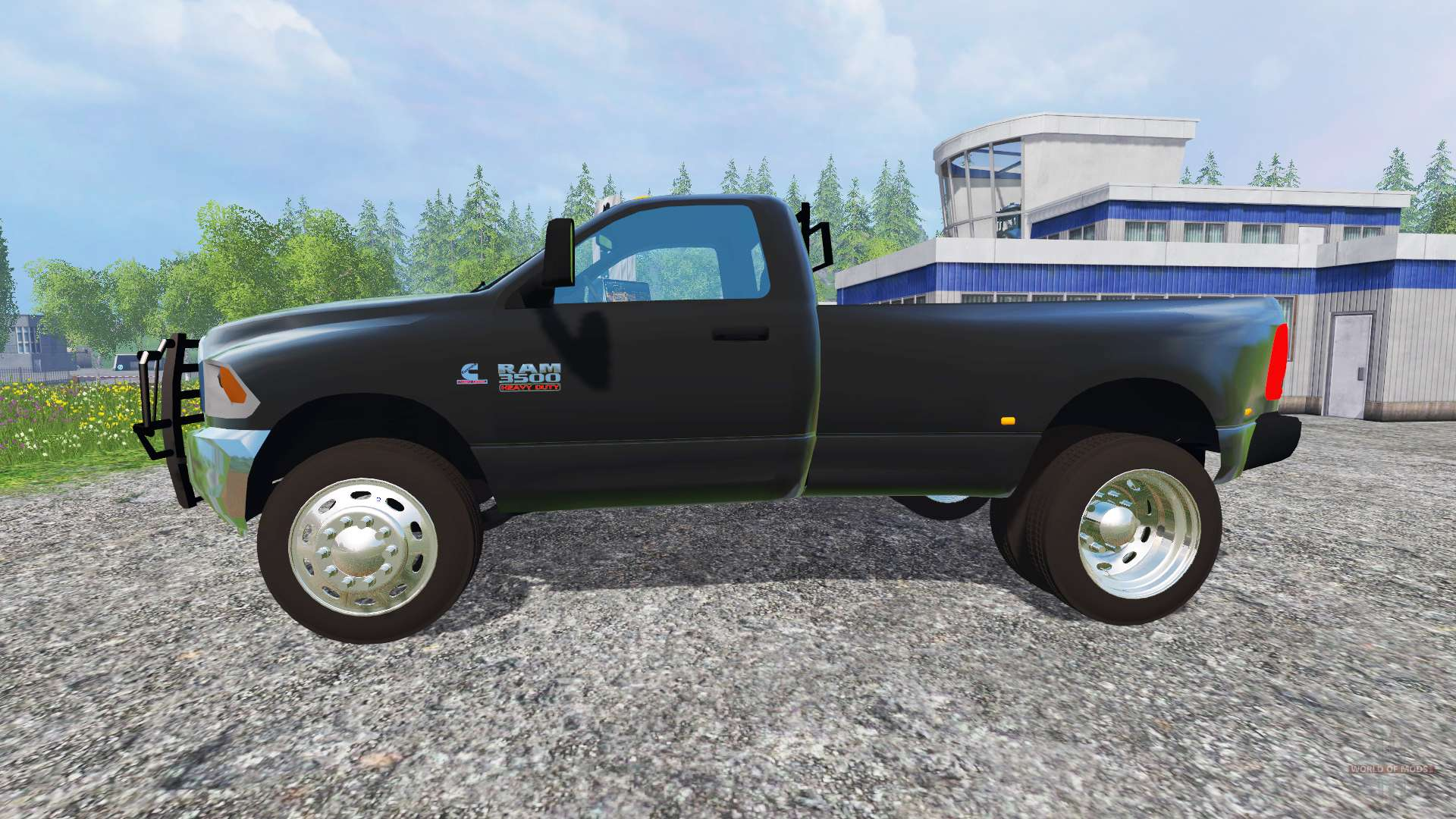 dodge ram 3500 dually for farming simulator 2015. Black Bedroom Furniture Sets. Home Design Ideas