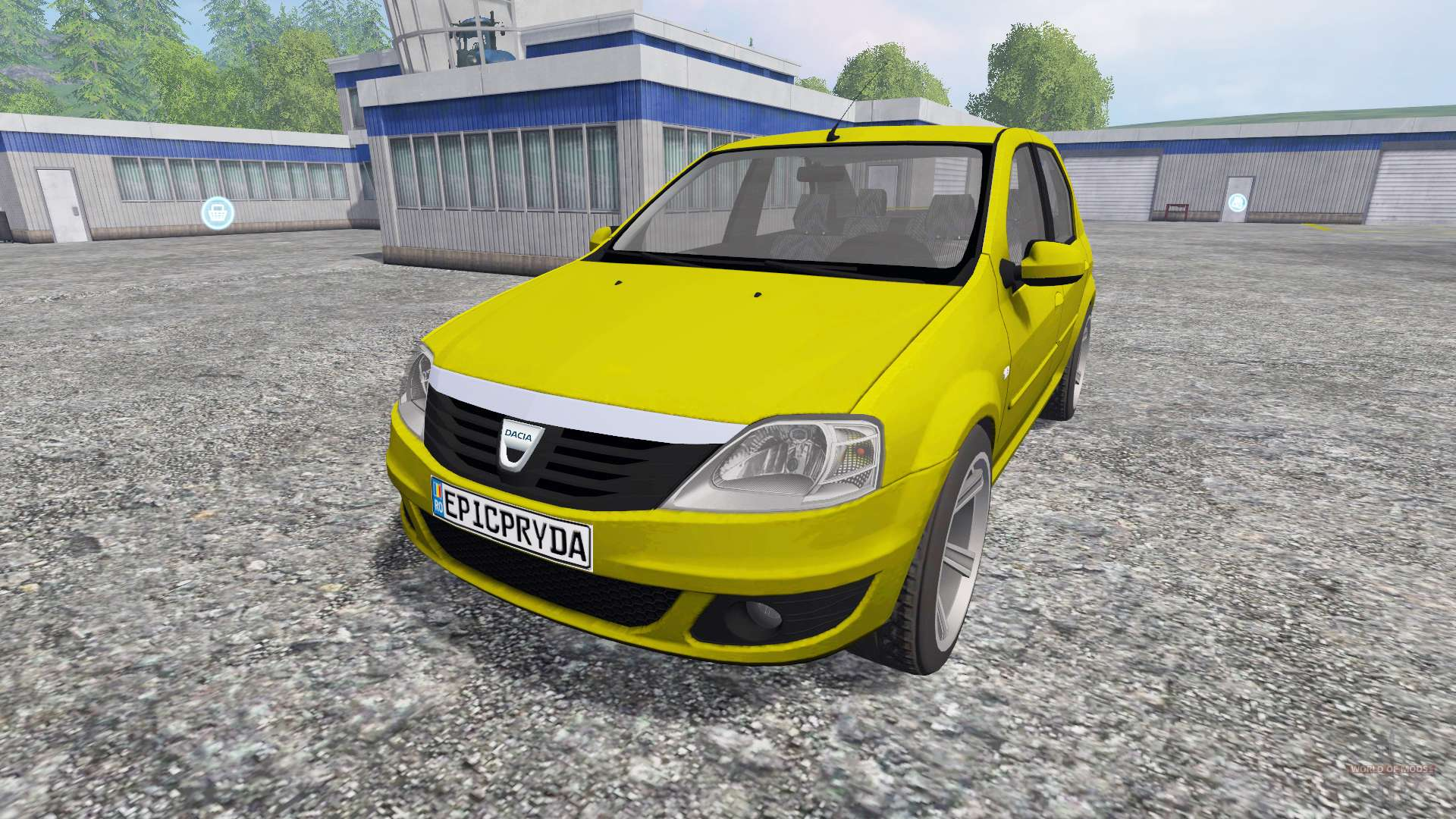 dacia logan for farming simulator 2015. Black Bedroom Furniture Sets. Home Design Ideas