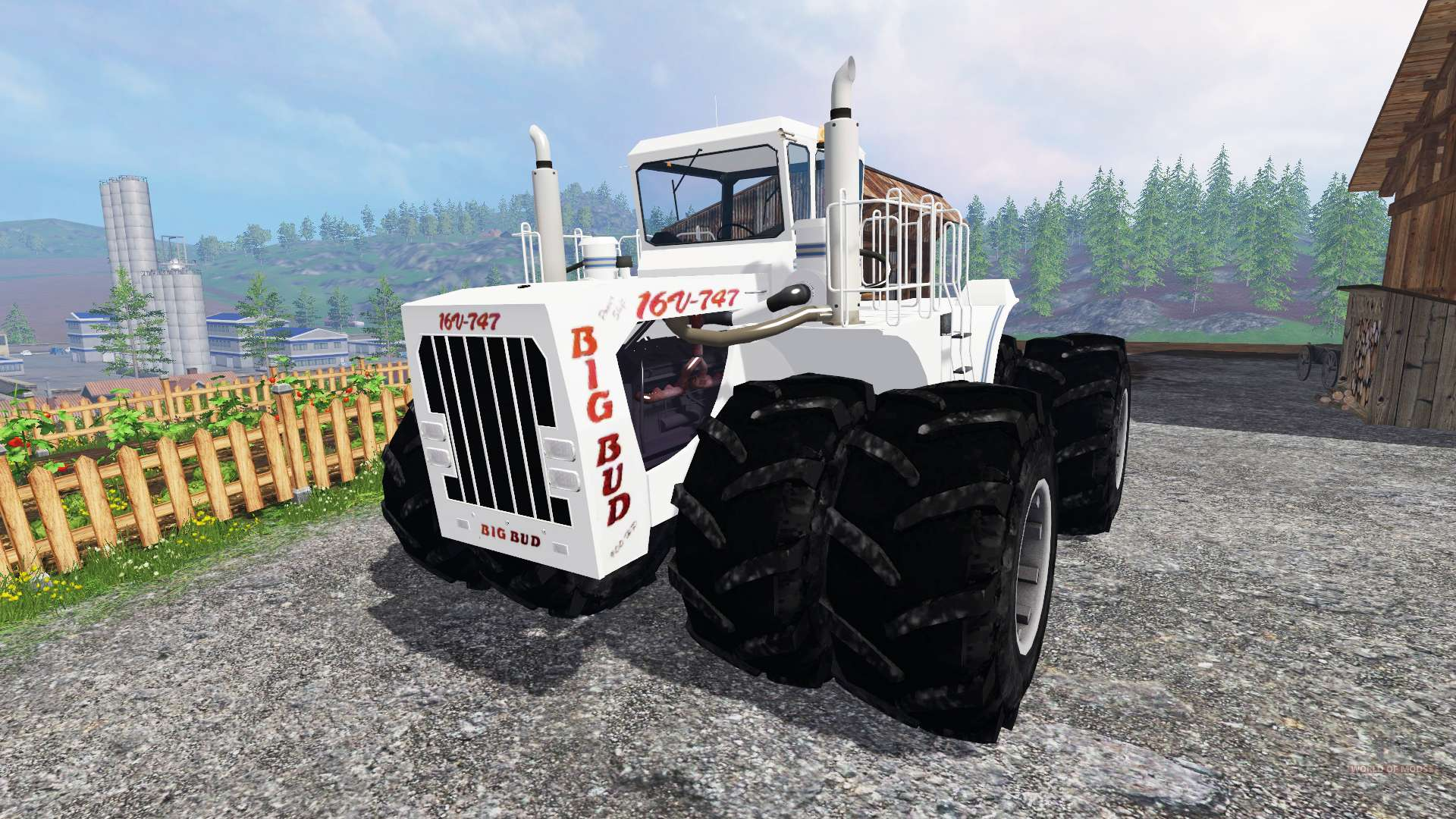 Big Bud 747 >> Big Bud-747 v3.0 for Farming Simulator 2015