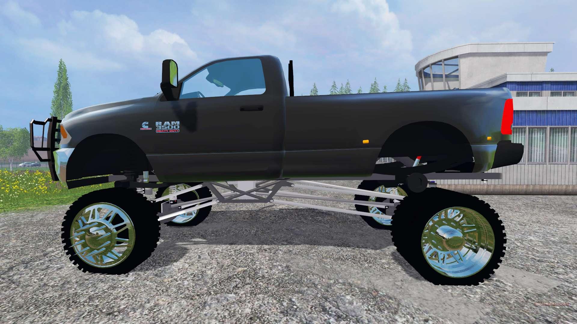 dodge ram 3500 lift for farming simulator 2015 - 2015 Dodge Ram 3500 Lifted