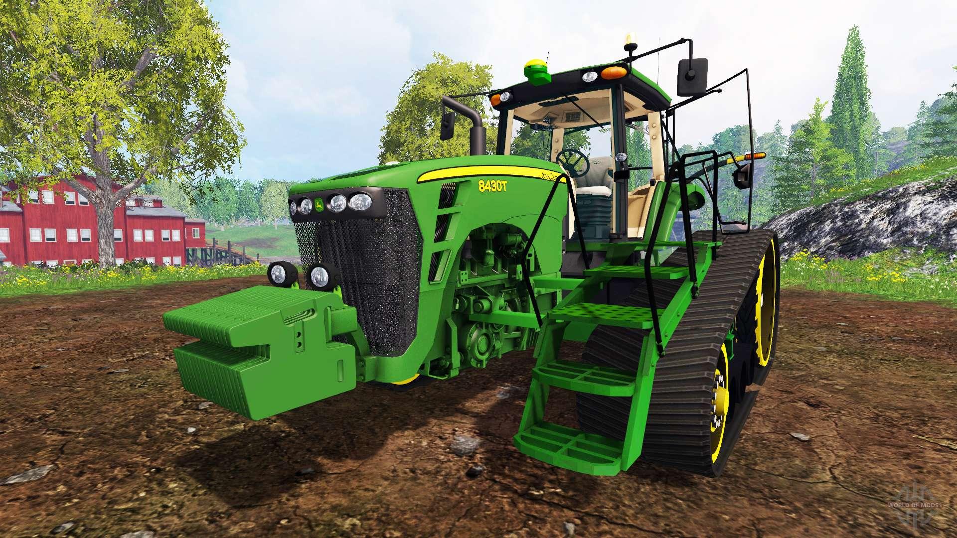 john deere 8430t for farming simulator 2015