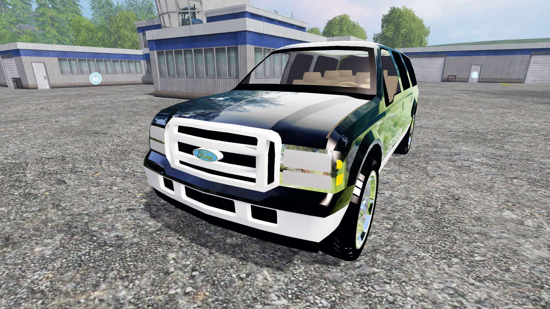 Ford Excursion 2015 >> Ford Excursion for Farming Simulator 2015