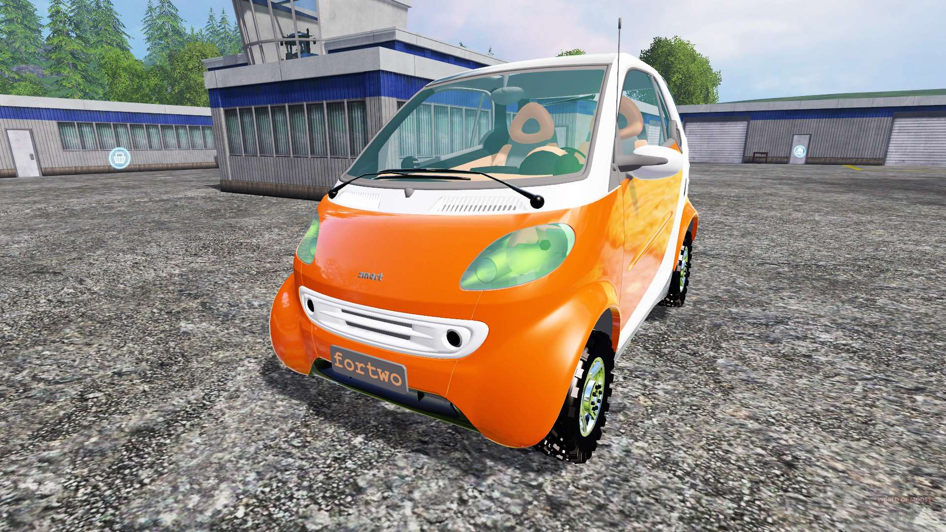 smart fortwo for farming simulator 2015. Black Bedroom Furniture Sets. Home Design Ideas