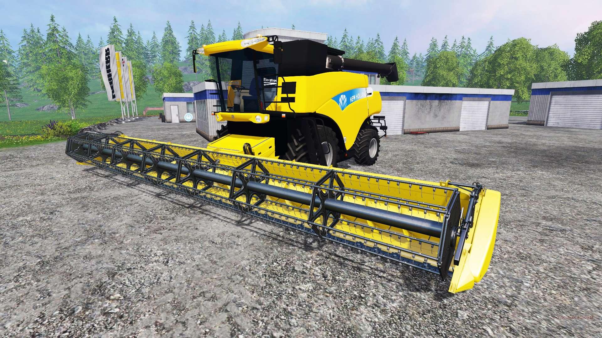 new holland cr 9090 for farming simulator 2015. Black Bedroom Furniture Sets. Home Design Ideas