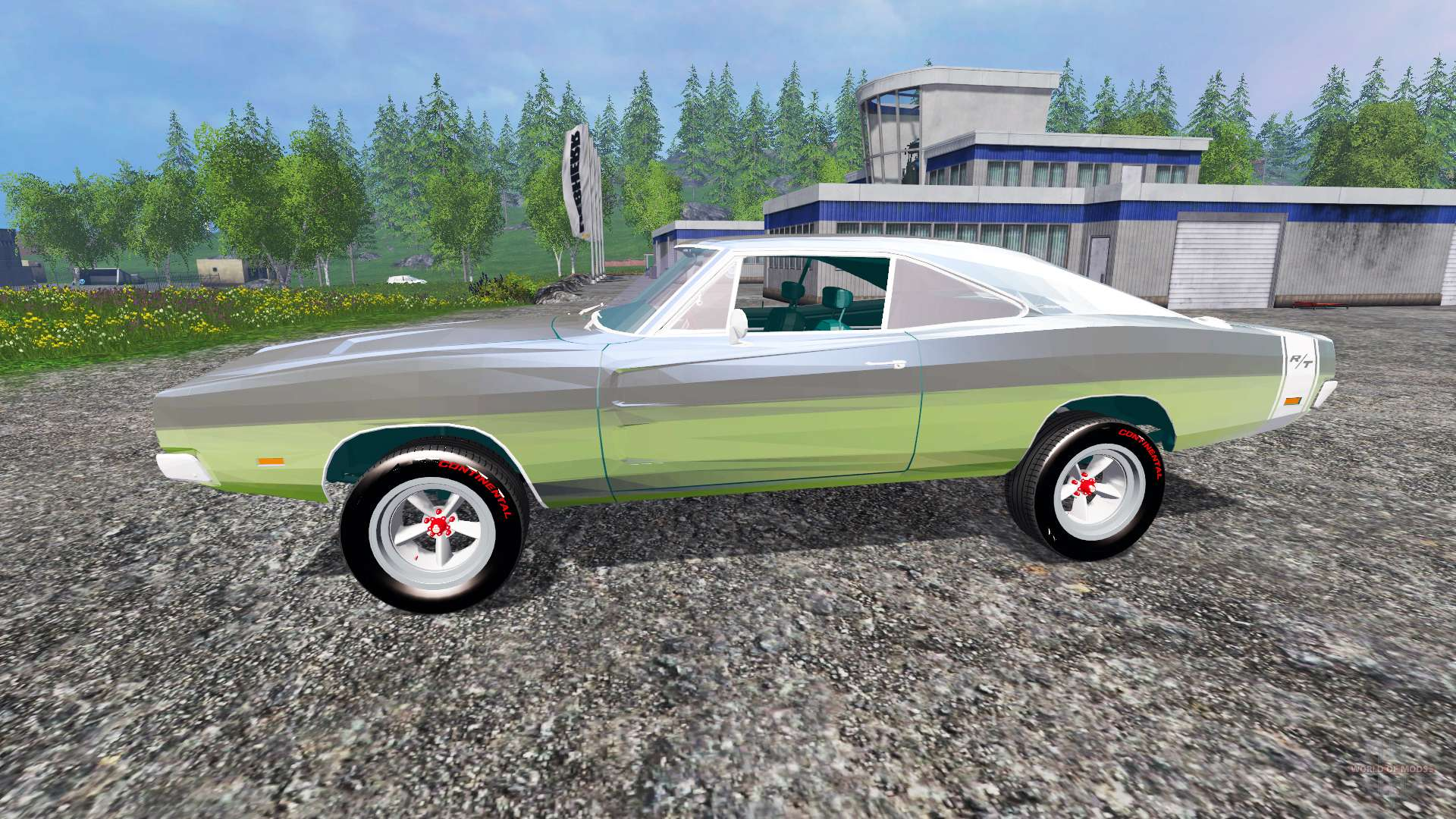Dodge Charger RT for Farming Simulator 2015