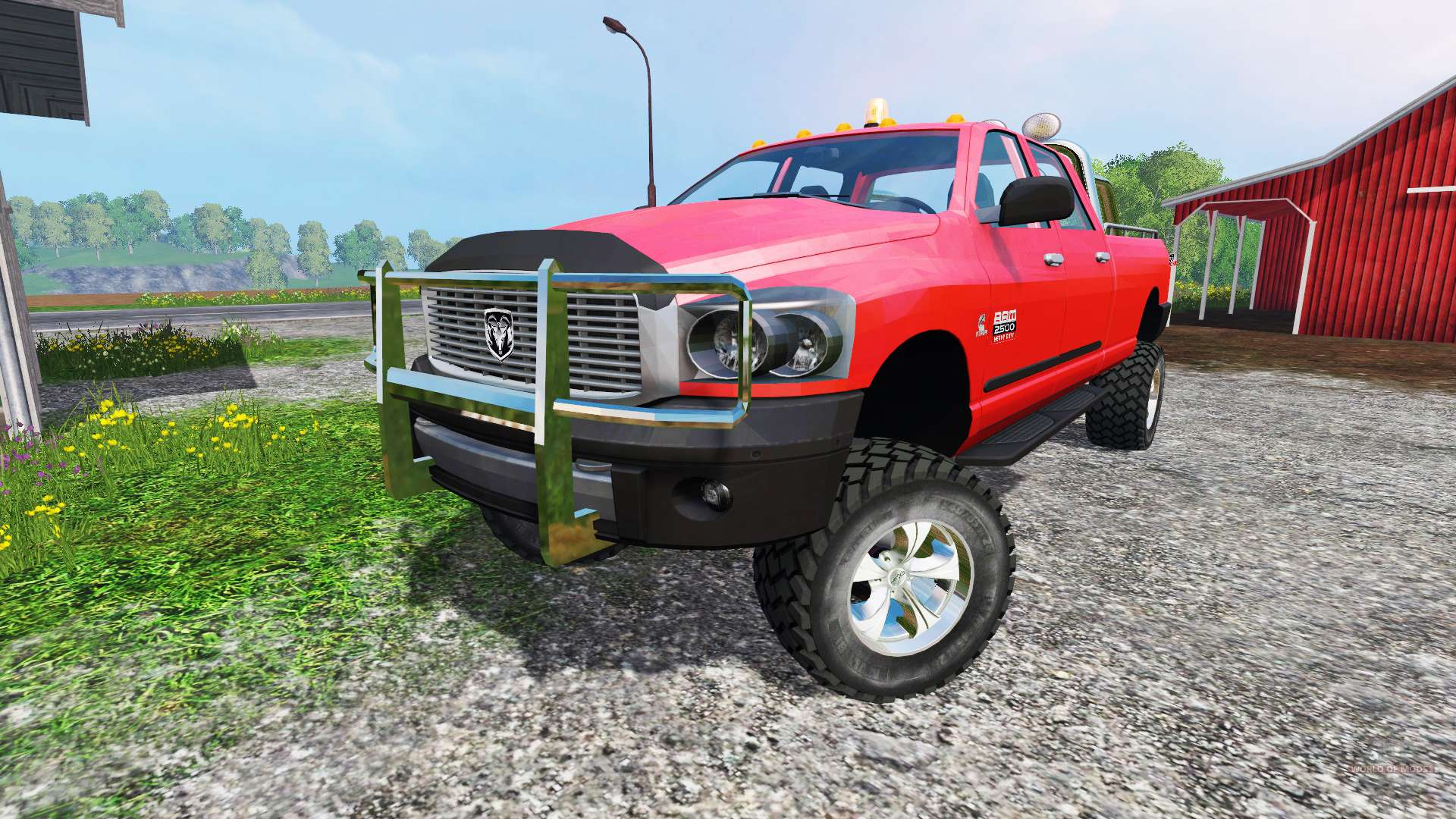 dodge ram 2500 heavy duty v1 5 for farming simulator 2015. Black Bedroom Furniture Sets. Home Design Ideas