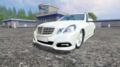 Mercedes-Benz E350 [beta] for Farming Simulator 2015