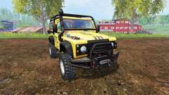 Land Rover Defender 90 v2.0 for Farming Simulator 2015