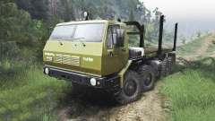 KrAZ-E Siberia [08.11.15] for Spin Tires