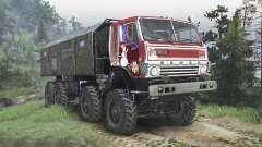 KamAZ-6350 Mustang [red][08.11.15] for Spin Tires