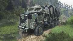 Oshkosh M1070 HET [08.11.15] for Spin Tires
