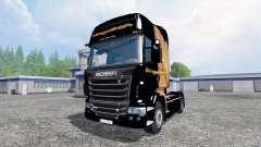 Scania R560 [Hugo La Merde] for Farming Simulator 2015
